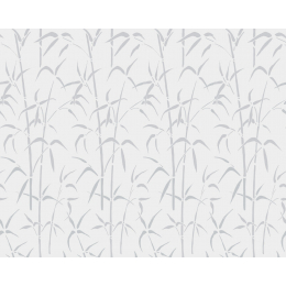 Bamboo weiss self-adhesive glass- foil